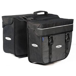 Norco Orlando Twin-Box Gepäckträgertasche schwarz/grau schwarz/grau