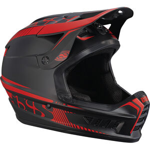 IXS Xact Fullface Helmet black/fluo red black/fluo red