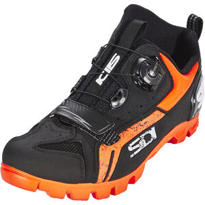 Sidi MTB Defender Shoes Herren black/orange black/orange