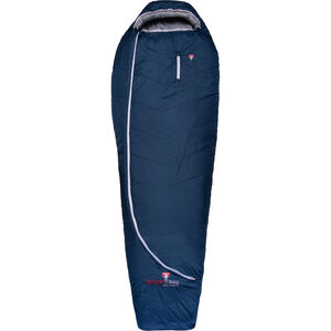 Grüezi-Bag Biopod Wool Zero Schlafsack Regular night blue night blue