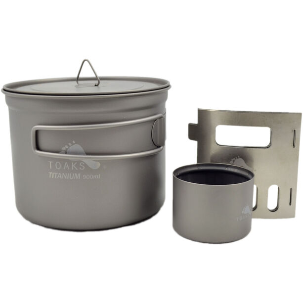 Toaks Titanium Alcohol Stove and Pot Cook System 900ml