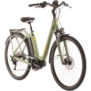 Cube Town Sport Hybrid Pro 400 Easy Entry green/orange green/orange