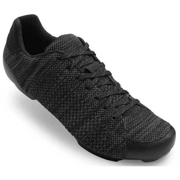 Giro Republic R Knit Shoes Herren black/charcoal heather