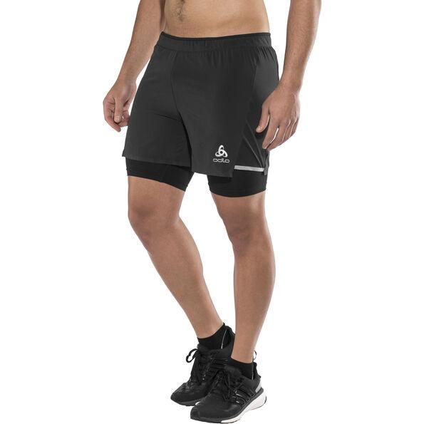 Odlo Zeroweight Ceramicool 2-in-1 Shorts