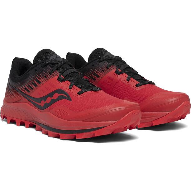 saucony Peregrine 10 ST Schuhe Herren red/black