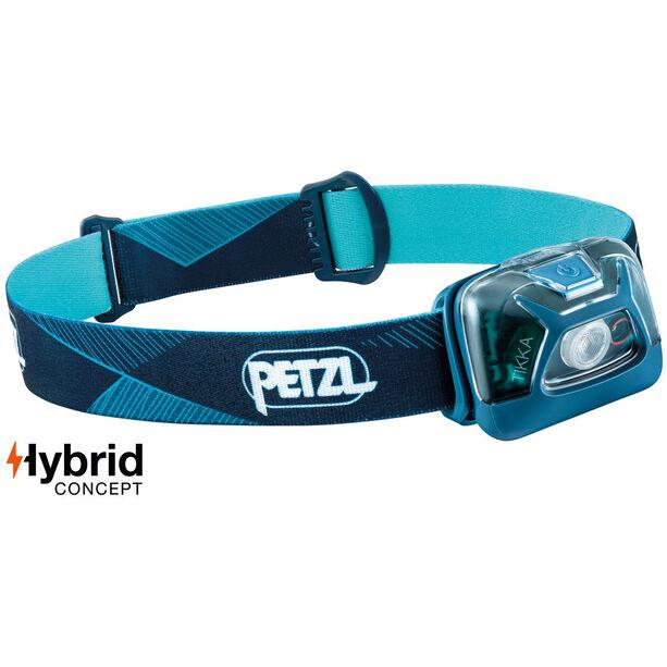 Petzl Tikka Stirnlampe blue
