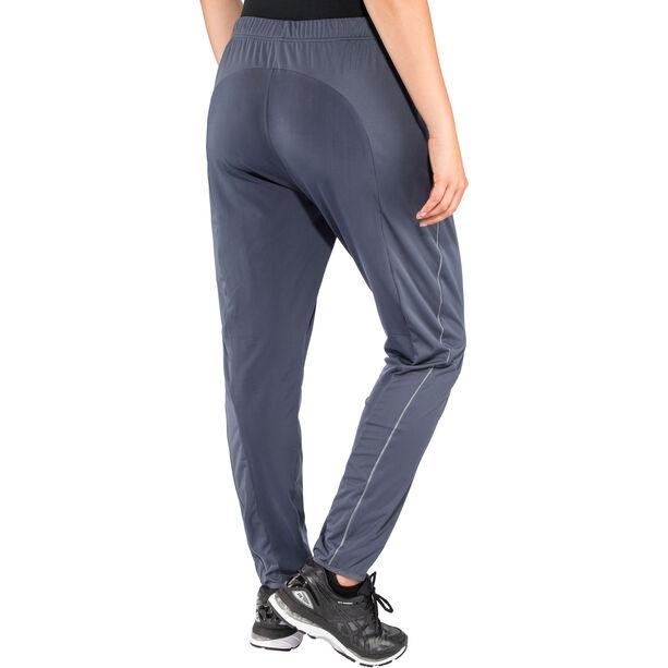 Odlo Zeroweight Windproof Warm Pants Damen odyssey gray