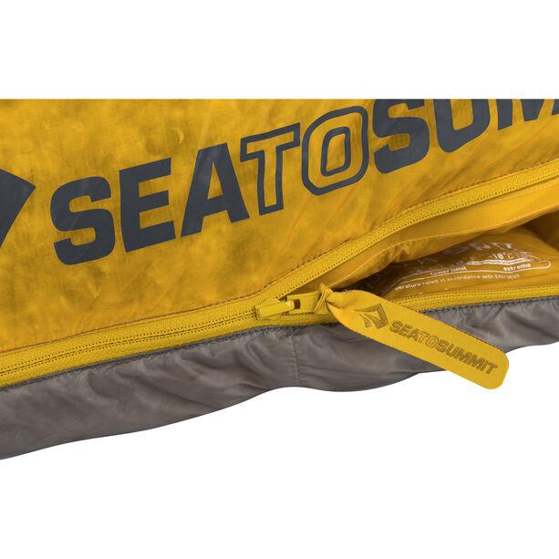 Sea to Summit Spark SpII Sleeping Bag regular dark grey/yellow