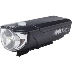 CatEye GVOLT20RC HL-EL350GRC Frontlicht mit StVZO schwarz schwarz