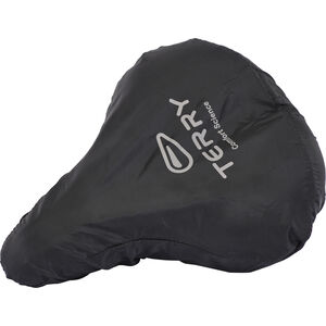 Terry City Raincover Large black black