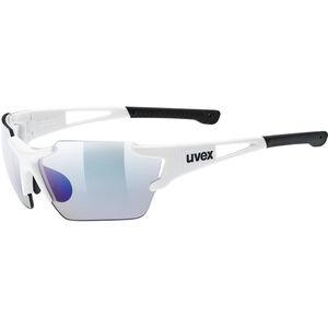 UVEX Sportstyle 803 Race VM Sportglasses Small white/ltm.blue white/ltm.blue