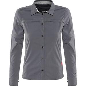 Protective P-Aight-RS Longsleeve Shirt Damen gunmetal gunmetal