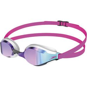 speedo Fastskin Speedsocket 2 Mirror Goggles pink/blue pink/blue