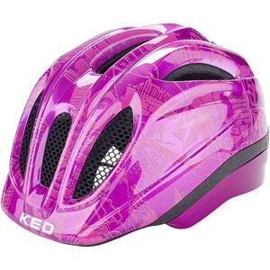 KED Meggy Trend Helmet Kinder violet pink violet pink