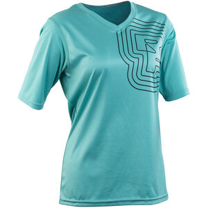 Race Face Charlie SS Jersey Damen turquoise turquoise