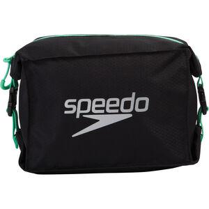 speedo Pool Side Bag black/green glow black/green glow