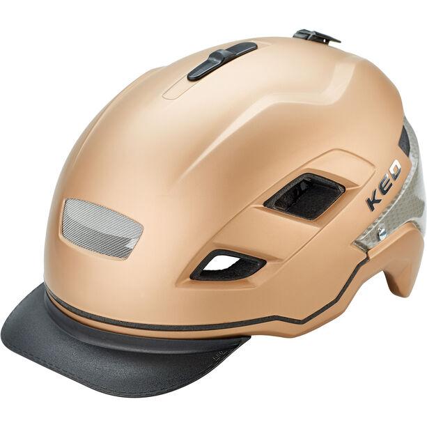 KED Berlin Helm gold matt