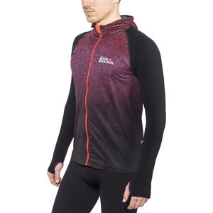 Compressport 3D Thermo Seamless Hoodie Unisex Red bei fahrrad.de Online