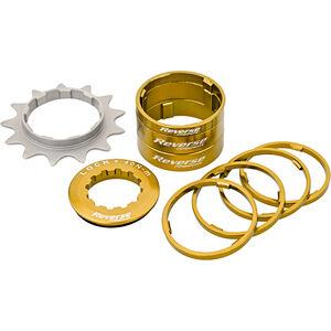 Reverse Single Speed Kit gold gold