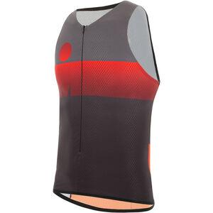 Santini Audax Aero SL Triathlon Top Herren red red