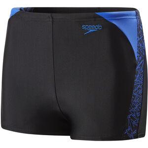 speedo Boom Splice Watershorts Jungs black/amparo blue black/amparo blue