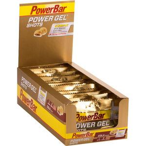 PowerBar PowerGel Shots Box Cola mit Koffein 16 x 60g