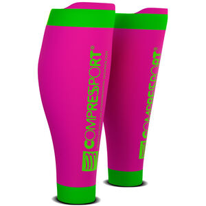 Compressport R2V2 Calf Sleeves fluo pink fluo pink