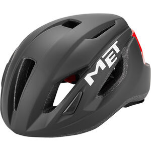 MET Strale Helm black/red black/red