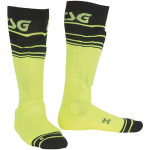TSG Riot Socks yellow-striped yellow-striped