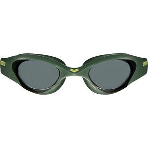 arena The One Goggles smoke-deep green-black smoke-deep green-black