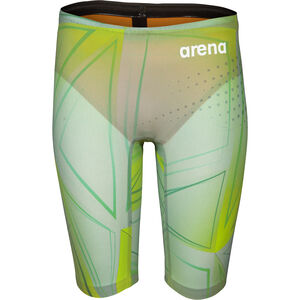 arena R-EVO ONE Jammer LTD Edition 2019 Jungen green glass green glass