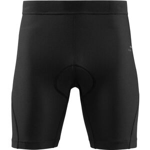 SQUARE Active Baggy Shorts inkl. Innenhose Damen black black