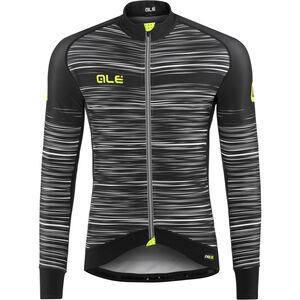 Alé Cycling Graphics PRR The End LS Jersey Herren black-white black-white