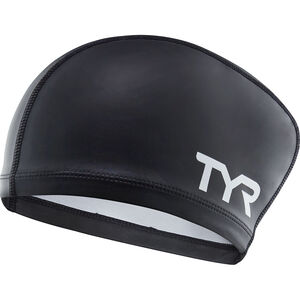 TYR Comfort Long Hair Silicone Cap Kinder black black