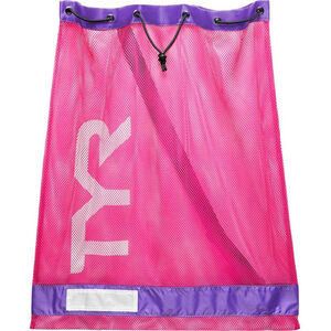 TYR Mesh Equipment Bag pink/purple pink/purple