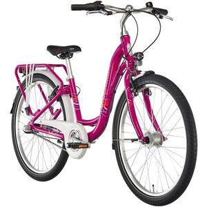 "Puky Skyride Light 24"" Alu Kinderfahrrad 3-Gang Berry bei fahrrad.de Online"