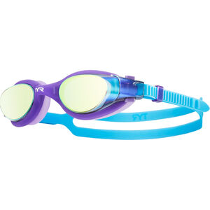 TYR Vesi Goggles Mirrored Kinder purple/blue purple/blue