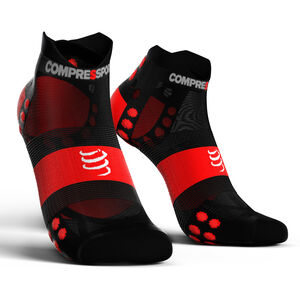 Compressport Pro Racing V3.0 UItralight Run Low Socks black/red black/red
