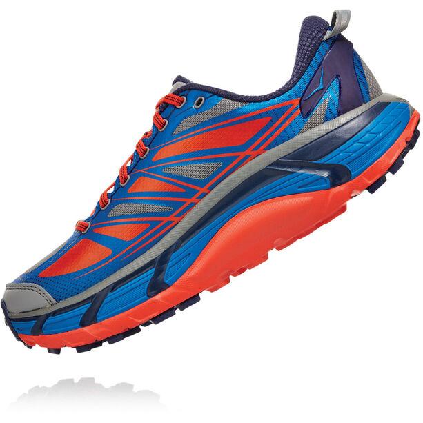 Hoka One One Mafate Speed 2 Schuhe Herren imperial blue/mandarin red