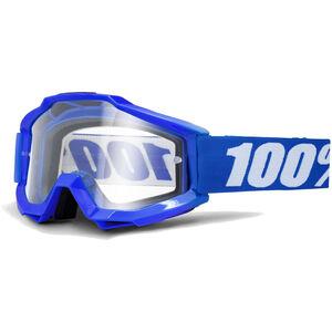 100% Accuri OTG Anti Fog Clear Goggles reflex blue reflex blue