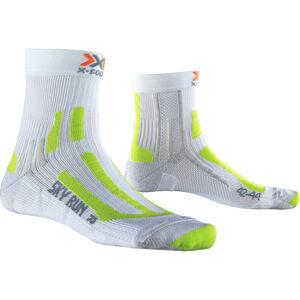 X-Socks Sky Run V2.0 Socks Men White/Green Lime