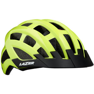 Lazer Compact Deluxe Helmet flash yellow flash yellow