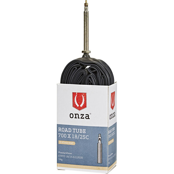 Onza SA1 Schlauch 700 x 18-25C 60mm schwarz