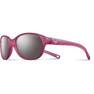 Julbo Romy Spectron 3+ Sunglasses Kids 4-8Y matt Translucent Pink-Gray Flash Silver