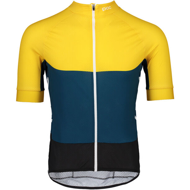 POC Essential Road Light Jersey Herren sulphite yellow/draconis blue