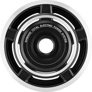 Shimano Steps SM-CRE60 Kettenblatt innen + außen Schutzscheibe antrazit/silber antrazit/silber