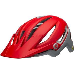 Bell Sixer MIPS Helmet ridgeline matte crimson/gray ridgeline matte crimson/gray