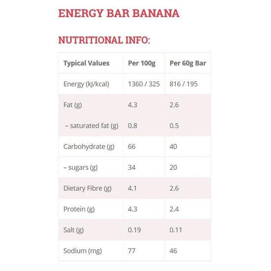 High5 EnergyBar Box Banana 25 x 60g bei fahrrad.de Online