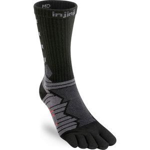 Injinji Ultra Run Crew Socks Obsidian