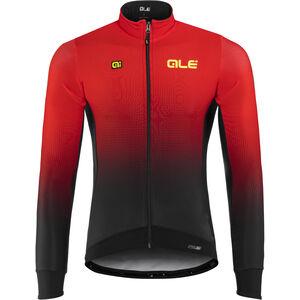 Alé Cycling PRS Dots DWR Longsleeve Jersey Herren black-red black-red